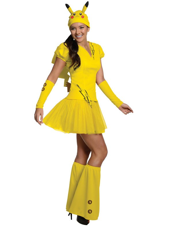 Adult Pokemon Pikachu Costume