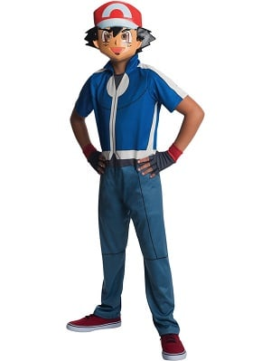 Pokemon Youth Ash Costume