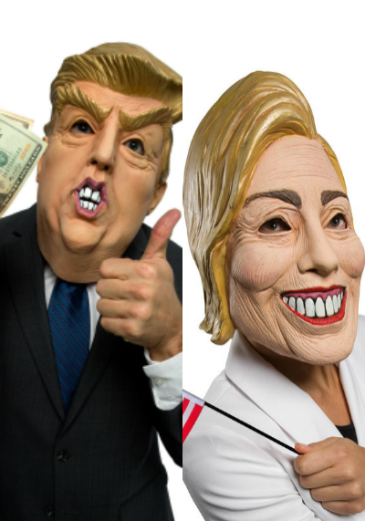 2016 Presidential Election Halloween Couples Costumes