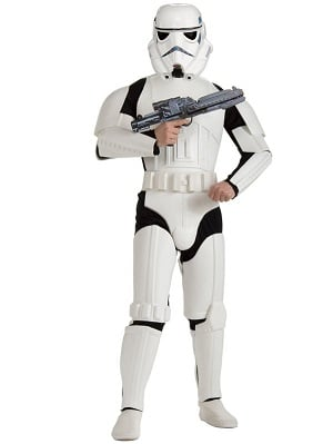Men's Deluxe Storm Trooper Costume