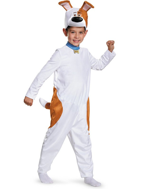 The Secret Life Of Pets Max Classic Boy's Costume