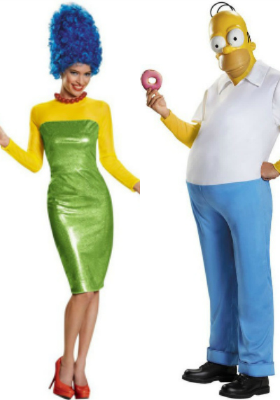 The Simpsons Couples Costumes