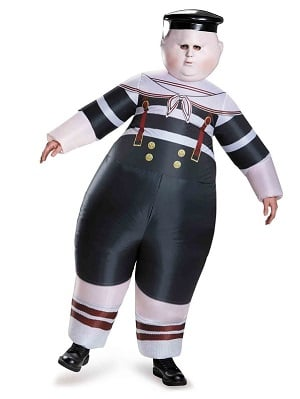Alice Through The Looking Glass Tweedle Dum/Tweedle Dee Inflatable Adult Costume