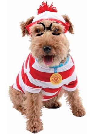 Wheres Waldo Dog Halloween Costume