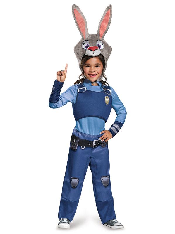 Zootopia Judy Hopps Classic Girls Costume