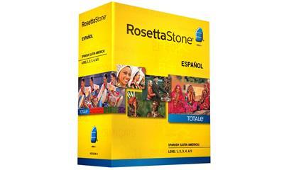 Rosetta Stone Spanish (Latin America) Level 1-5