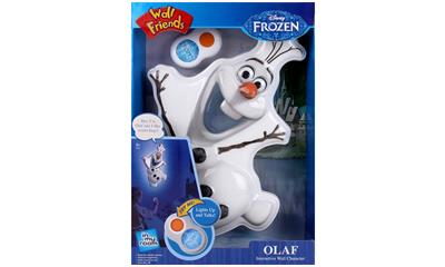 Disney Frozen Olaf Wall Friends Interactive Character Light by Uncle Milton