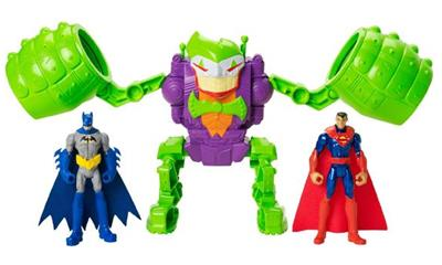 DC Comics 4-inch Batman Figures - The Joker Robo Rampage