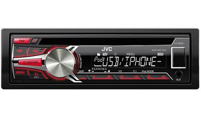 JVC KDR650 In-Dash Car Stereo Receiver