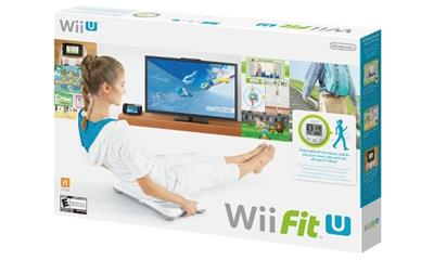 Wii Fit U with Balance Board and Fit Meter