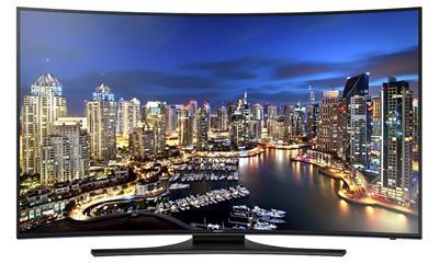 Samsung UN55HU7250 Curved 55-Inch 4K Ultra HD 120Hz Smart LED TV