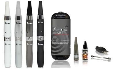 Atmos Dart Dry Herb, Wax, and Oil Vaporizer Kit with Tobacco Flavored Oil