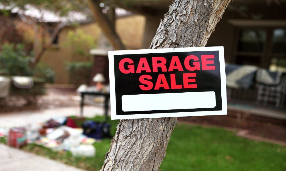 Garage Sale Tips & Strategies For Homeowners