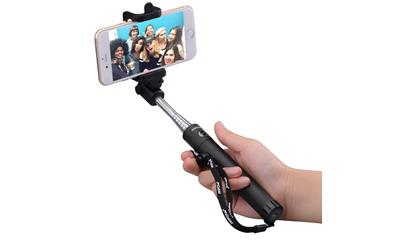 Mpow iSnap X One-piece U-Shape Self-portrait Monopod Extendable Selfie Stick