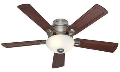 Hunter 52-Inch Princeton Indoor Antique Pewter Ceiling Fan
