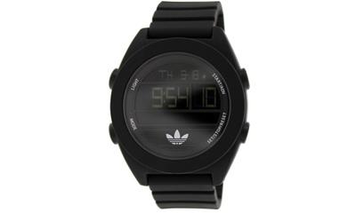 Adidas Santiago ADH2907 Black Silicone Quartz Watch
