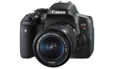 Canon EOS Rebel T6i DSLR Camera with EF-S 18-55mm f/3.5-5.6 IS STM Lens