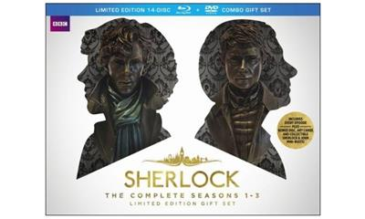 Sherlock: The Complete Seasons One - Three (Blu-ray Disc)