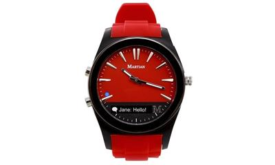 Martian Watches MN200RBR Notifier Smartwatch