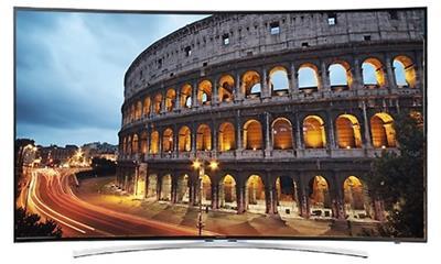 Samsung UN48H8000 Curved LED Smart 3D HDTV