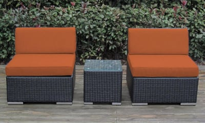 Ohana 3-Piece Deep Seating Balcony Set (PN3002OR)