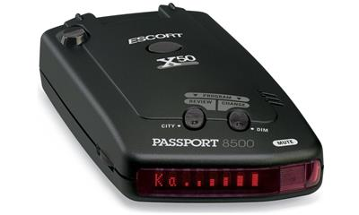 Escort 8500 X50 Passport Radar/Laser Detector