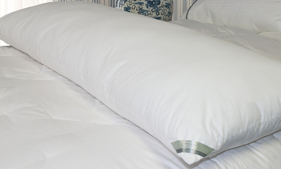 Kathy Ireland 233 Thread Count Down Alternative Body Pillow