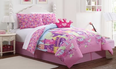 Princess Bed In a Bag Comforter Set
