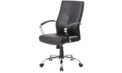 Rosewill RFFC-14003 LeatherPlus Modern Euro Design Ergonomic Executive Chair