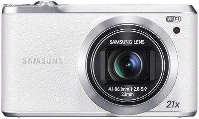 Samsung WB380 16.3-Megapixel Digital Camera (White)