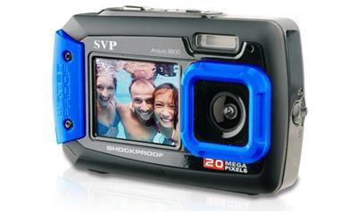 SVP AQUA8800 Waterproof, Dustproof and Shockproof 20MP Digital Camera