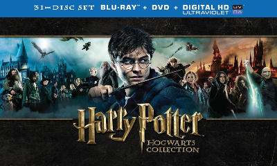 Harry Potter Hogwarts Collection (Blu-ray Disc)