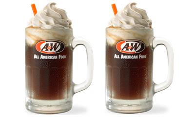 FREE Small A&W Root Beer Float (8/6)