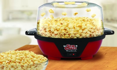 West Bend 82505 Stir Crazy 6-Quart Corn Popper