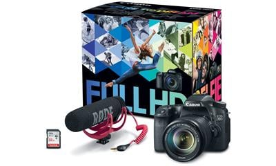 Canon EOS 70D Video Creator Kit with 18-135mm Lens