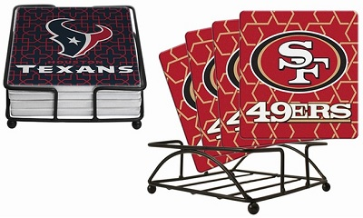 NFL Drink Coasters