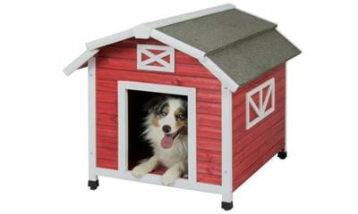 Precision Pet Old Red Barn Dog House