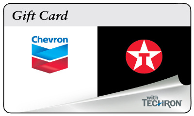 Chevron Texaco Gas Gift Card