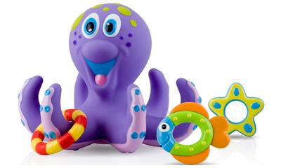 Nuby Bathtime Fun Octopus Hoopla