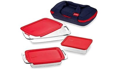 Pyrex Portables 8-Piece Bakeware Set