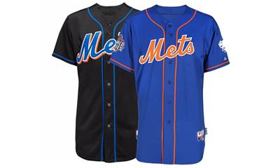 Mets Majestic Authentic On-field Jerseys