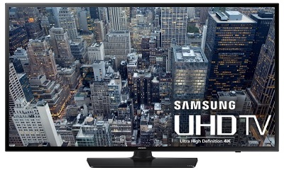 Samsung UN40JU6400FXZA 40-Inch 4K Ultra Smart LED HDTV