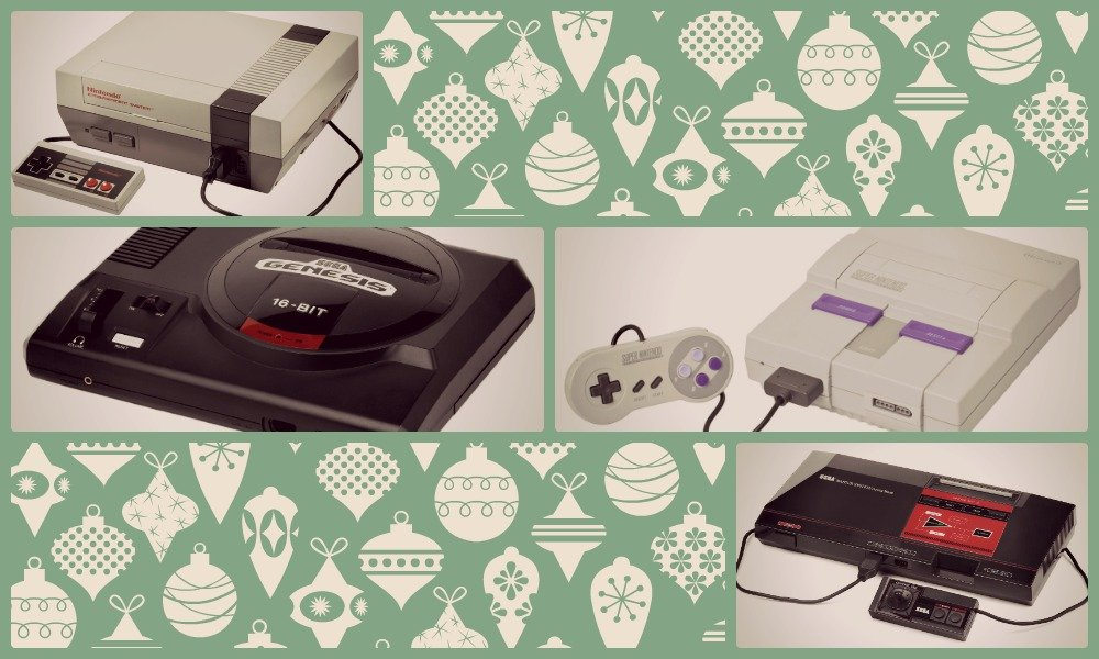 Christmas Gift Ideas for the Retro Gamer