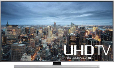 Samsung UN55JU7100 55-Inch 4K Ultra HD Smart 3D LED HDTV