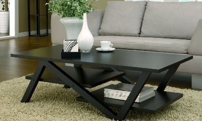 Furniture of America Finley Rectangular Coffee Table