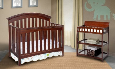 Delta Children Bentley 4-in-1 Crib