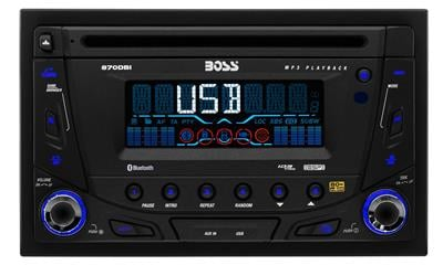 BOSS AUDIO 870DBI Double-DIN CD/MP3 Player Receiver