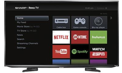 Sharp LC-50LB371U 50-Inch 1080p Smart LED HDTV