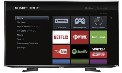 Sharp LC-50LB371U 50-Inch 1080p Smart LED HDTV