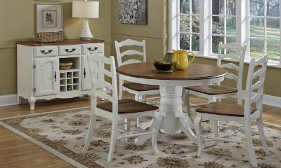 The French Countryside 5-piece Dining Set